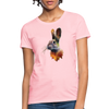 Rabbit Women's T-Shirt - pink