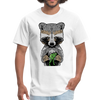 Racoon Men's T-Shirt - white