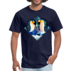 Penguin Men's T-Shirt - navy