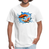Swimming Koi Men's T-Shirt - white