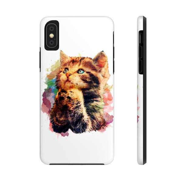 Praying Cat Case Mate Tough Phone Cases