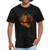 Horse t-shirt - Animal Face T-Shirt - black