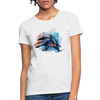Dolphin Women's T-Shirt - white