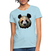 Panda Women's T-Shirt - powder blue
