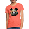 Panda Women's T-Shirt - heather coral