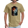 Gorilla t-shirt - Animal Face T-Shirt - khaki