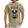 Racoon Men's T-Shirt - khaki