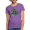 King fisher Women's T-Shirt - purple heather