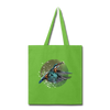 King fisher Tote Bag - lime green