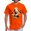 Goat t-shirt - Animal Face T-Shirt - orange