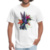 Flying Hummingbird Men's T-Shirt - white