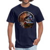 Turkey t-shirt - Animal Face T-Shirt - navy