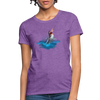 Jumping shark Women's T-Shirt - purple heather