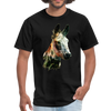 Donkey t-shirt - Animal Face T-Shirt - black