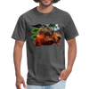 Chilling Kangaroo t-shirt - heather black
