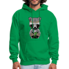Racoon Men's Hoodie - kelly green