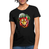 Watercolor Tiger Women's T-Shirt - black