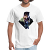 Young wolf standing T-Shirt - Animal Face T-Shirt - white