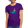 Jumping shark Women's T-Shirt - purple
