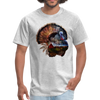 Turkey t-shirt - Animal Face T-Shirt - heather gray