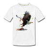 Eagle Kid's Premium Organic T-Shirt - white
