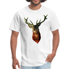 Deer t-shirt - Animal Face T-Shirt - white