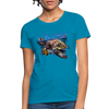 Sea turtle Women's T-Shirt - turquoise