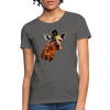 Giraffe Women's T-Shirt - charcoal