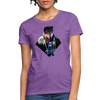Young wolf Women's T-Shirt - purple heather