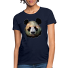 Panda Women's T-Shirt - navy