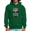 Racoon Men's Hoodie - forest green