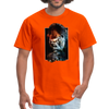 Gorilla t-shirt - Animal Face T-Shirt - orange