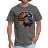 Turkey t-shirt - Animal Face T-Shirt - charcoal