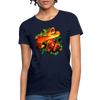 Snake Women's T-Shirt - navy