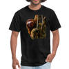 Sloth t-shirt - Animal Face T-Shirt - black