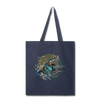 King fisher Tote Bag - navy