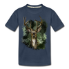 Deer Kid's Premium Organic T-Shirt - navy