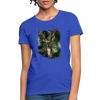 Deer with foliage Women's T-Shirt - royal blue
