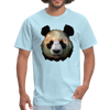 Panda t-shirt - Animal Face T-Shirt - powder blue