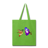 Hummingbird Tote Bag - lime green