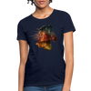 Horse Women's T-Shirt - navy