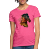 Horse Women's T-Shirt - heather pink