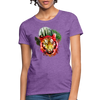 Watercolor Tiger Women's T-Shirt - purple heather