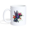 Flying Hummingbird Coffee/Tea Mug - white