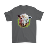 Sheep T-Shirt - Animal Face T-Shirt