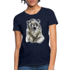 Polar Bear Women's T-Shirt - navy