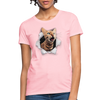 Cat with eyes Women's T-Shirt - pink