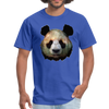 Panda t-shirt - Animal Face T-Shirt - royal blue