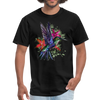 Flying Hummingbird Men's T-Shirt - black