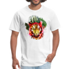 Watercolor tiger t-shirt - white